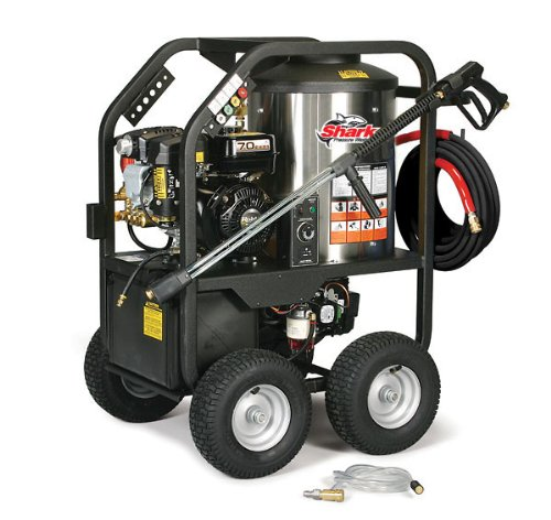 Shark Sgp-302517 2,400 Psi 2.7 Gpm Subaru Gas Powered Hot Water Commercial Series Pressure Washer front-30789