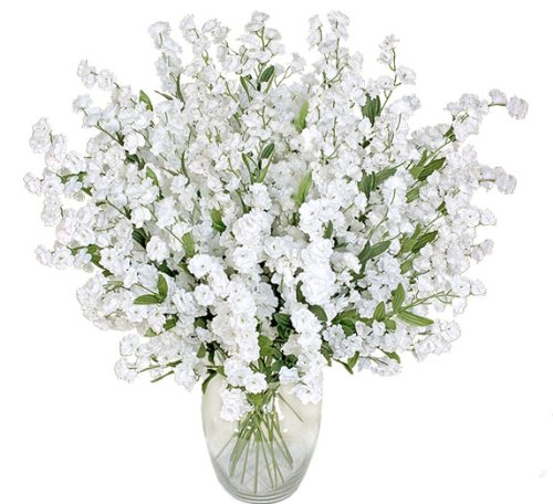 1920 Baby's Breath Gypsophila Artificial Silk Flowers _white