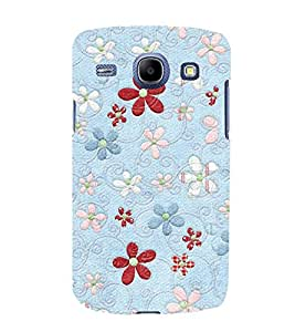 Beautiful Floral Patterns 3D Hard Polycarbonate Designer Back Case Cover for Samsung Galaxy Core I8260 :: Samsung Galaxy Core I8262 Duos