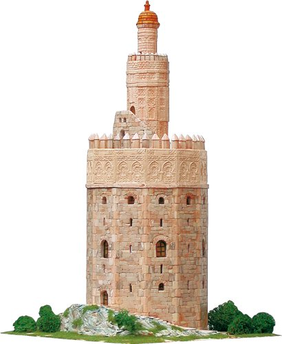 Gold Tower Model Kit
