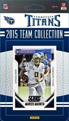 Tennessee Titans 2015 Score Factory Sealed NFL Football 14 Card Team Set Featuring Marcus Mariota Rookie Card Plus