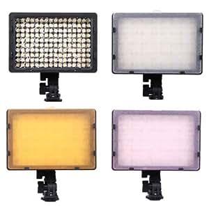 H.PRESTON LED160 LIGHT Pro 160-LED Video Camera Light for canon 1Ds,5D,7D,40D,50D,60D,500D,550D,600D,1000D,1100D,Nikon D700,D300,D400.D200,D90,D60,D3,D2,D1,D7000,D5000,D3100,D3000,Olympus E620,E520,E510,E500,E420,E3,E1,E-P1,EP2,EPL-1,EPL-2,Panasnic LX5,GH1 GF1 GF2,Pentax,Fuji,Sony DSLR/SLR & Camcorders