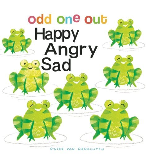 Happy Angry Sad (Odd One Out) by Guido van Genechten (Illustrator) (25-Feb-2014) Board book