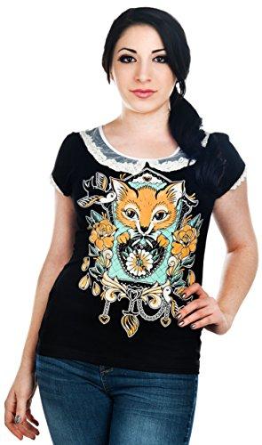 Banjo & Cake -  T-shirt - Donna nero X-Large