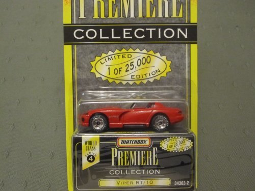 Dodge Viper RT/10 (Red) Matchbox Premiere Series 4 #34363-2 by Racing Champions (Champion Premiere 2 compare prices)