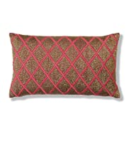 Geisha Beaded Cushion [T47-8194-S]