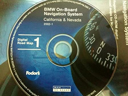 navigation CD # 1 for BMW, Land Rover or Mini Cooper. Disk covers California, Washington, Oregon, Nevada & Hawaii (map date 2011)