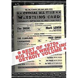 Best Of 1970s Big Time Wrestling Vol 4
