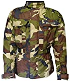 Bangla 1911 Men Motorbike Jacket Textile CORDURA600 Camouflage Green 5XL