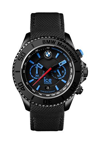 Ice-Watch Ice BMW Motorsport BM.CH.KLB.B.L.14 - Orologio da polso da uomo, cinturino in pelle colore nero