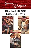 Harlequin Desire December 2013 - Bundle 1 of 2: Her Return to Kings Bed\A Billionaire for Christmas\Second-Chance Seduction