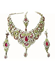 Sneh Designer Kundan Necklace Set For Women