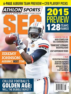 Athlon Sports 2015 College Football Southeastern (SEC) Preview Magazine- Auburn Tigers Cover