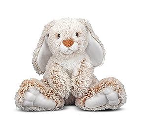 Melissa & Doug Burrow Bunny Stuffed Animal(pack of 2)