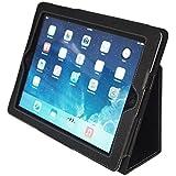 Kyasi Case Premium PU Leather for the iPad 2 3 4 Folio APLJUS Black