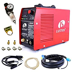LOTOS LT3200 32-Amp Non-Pilot Arc Plasma Cutter 1/4 Inch Clean Cut 220Volt Metal Cutter by Lotos Technology by Lotos Technology