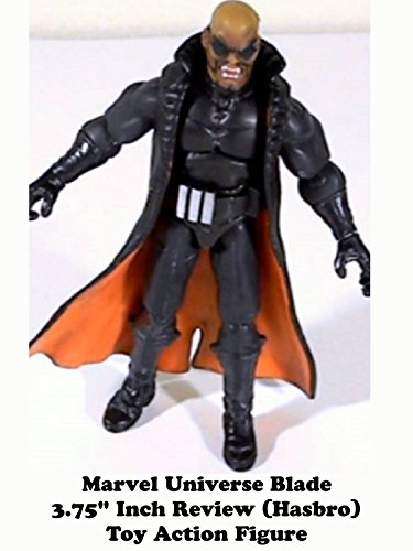 "Marvel Universe 3.75"" Inch BLADE review (Hasbro) toy action figure"