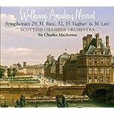 Symphonies N°29, 31 «Paris», 32, 35 «Haffner» & 36 «Linz»