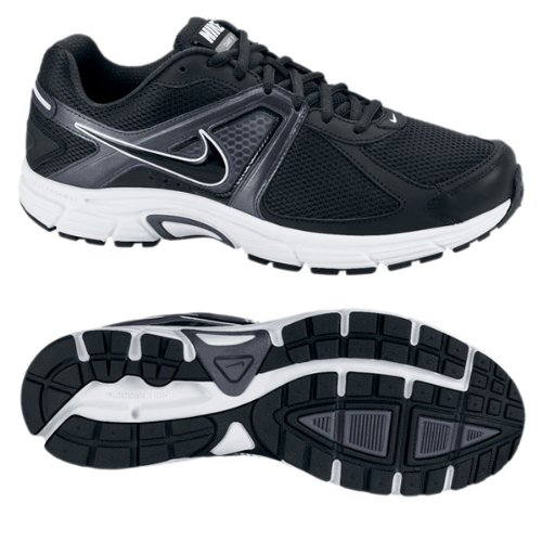 Nike DART 9 Men's Running Shoe (8 D(M) US, Black/Metallic Dark Grey/Black)