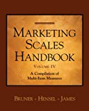 Marketing Scales IV (Marketing Scales Series) (0324312350) by JAMES