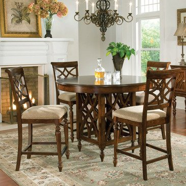 Standard Furniture Woodmont 5 Piece Counter Height Dining Room Set