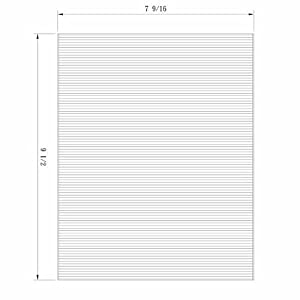 PARTICULATE CABIN AIR FILTER FOR 2011-2012 FORD FIESTA (PKG OF 2) - 800163P