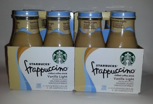цена на Starbucks Frappuccino Vanilla Light (Pack of 8)