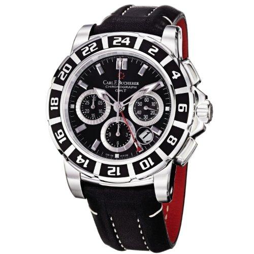 carl-f-bucherer-mens-0010618133301-patravi-black-chronograph-dial-and-strap-watch