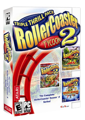 Atari-Rollercoaster Tycoon 2: Triple Thrill Pack