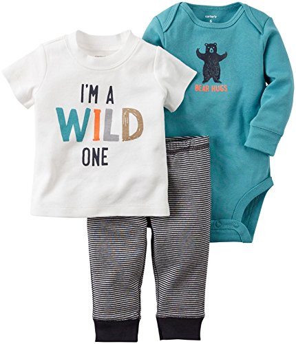 660d408d6 Carter's Baby Boys 3 Pc Sets 126g262, Turquoise, 12 Months best ...