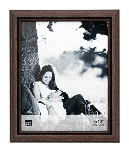 Kiera Grace Nolan Picture Frame, 8  by  10 Inch, Grey Driftwood (8x10 Wood Picture Frame compare prices)