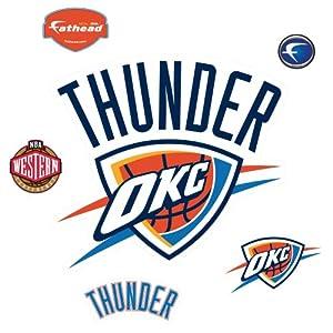 Fathead Oklahoma City Thunder Okc Logo 3d