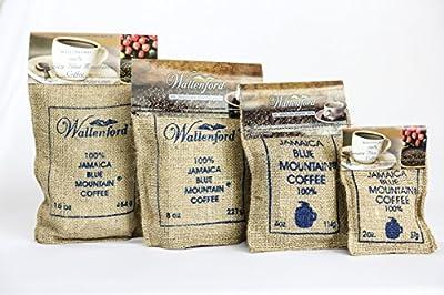 Roasted Whole Bean 100% Jamaica Blue Mountain Coffee