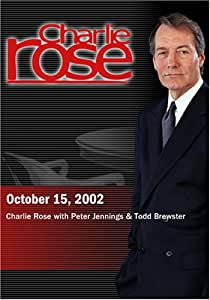 Charlie Rose with Peter Jennings & Todd Brewster (October 15, 2002)