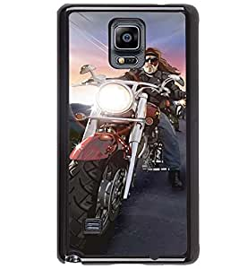 Printvisa Bikers Convoy Back Case Cover for Samsung Galaxy Note 4 N910::Samsung Galaxy Note 4 Duos N9100