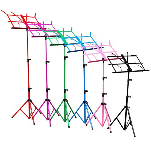 hsr-colourful-metal-folding-sheet-music-stand-holder-tripod-base-foldable-carry-case-black