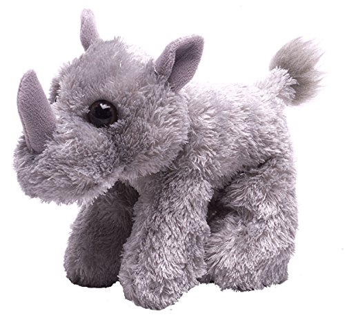 Wild Republic Hug Ems Rhino Plush Toy