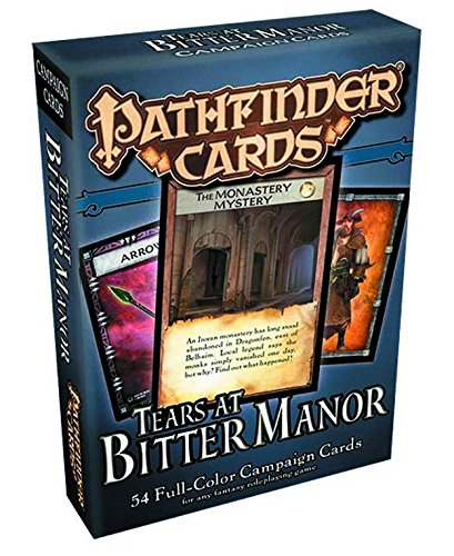Pathfinder Campaign Cards: Tears at Bitter Manor - 1