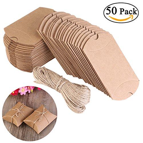 nuolux-cuscino-di-scatole-portaconfetti-50pz-in-carta-kraft-con-corda-di-canapa-bomboniere