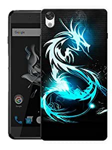 """Humor Gang Dragon Life Printed Designer Mobile Back Cover For """"OnePlus X"""" (3D, Matte, Premium Quality Snap On Case)"""