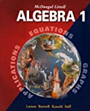 McDougal Littell Algebra 1: Applications, Equations, Graphs