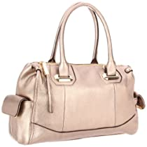 Big Sale B. MAKOWSKY Loren Satchel,Clay,One Size