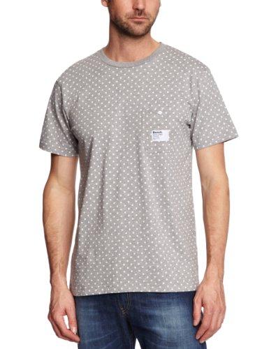 Bench Juror D Logo Men's T-Shirt Grey Small