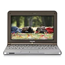 Toshiba Mini NB205-N325BN 10 1-Inch Sable Brown Netbook - 9 Hours of Battery Life Windows 7 Starter
