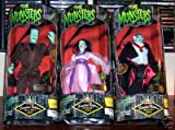 The Munsters Action Figure - Doll Set Limited Edition Herman, Lily & Grandpa Munster