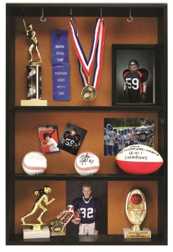 Pinnacle Trophy Case Black