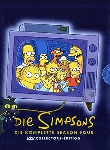 Die Simpsons - Die komplette Season 4 (Collector's Edition, 4 DVDs)