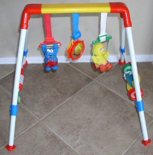 Sesame Street Activity Bar Play Gym front-1005887