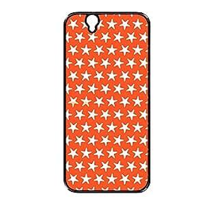 Vibhar printed case back cover for Sony Xperia Z OrangeStar