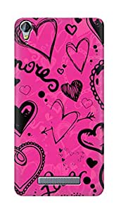 SWAG my CASE PRINTED BACK COVER FOR MICROMAX CANVAS JUICE 3 PLUS Q394 Multicolor